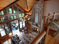 Crazy Fox Lodge - Traditional - Living Room - atlanta - by ...