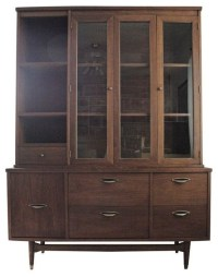 Vintage Mid-Century Bassett Credenza and Hutch - China ...