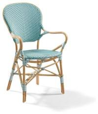 Set of Two Paris Outdoor Bistro Outdoor Armchairs ...