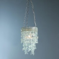 Seaglass Curtain Ceiling Light - Flush-mount Ceiling ...