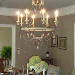 Lantern Pendant Lights For Kitchen Light Fixture Updated Chandelier In Dining Room - Traditional ...