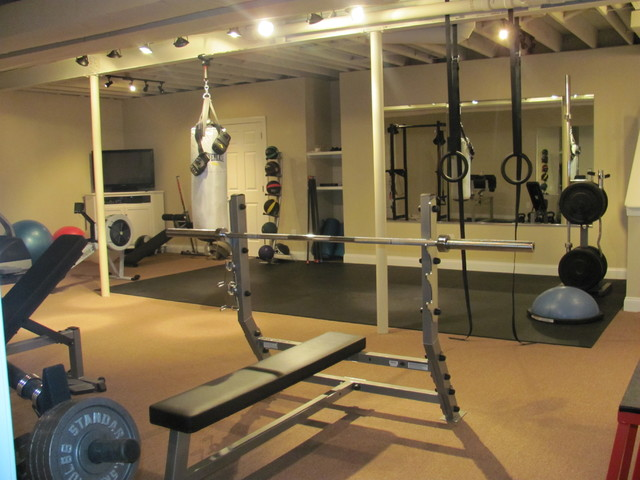 Basement Gym  Contemporary  Home Gym  Philadelphia  By