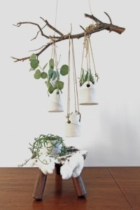Dover Hanging Planters - Contemporary - Indoor Pots And ...