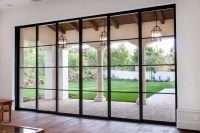 Steel Pocket Sliding Doors - Mediterranean - Patio ...