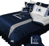 NFL Dallas Cowboys Football Team 5 Piece Queen Bedding Set