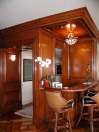 Handsome Corner Bar - Traditional - Living Room - los ...