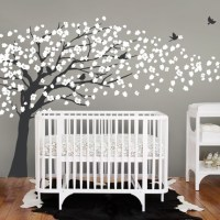 Cherry Blossom Tree - Elegant Style Wall Decal - Modern ...