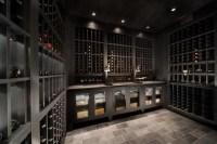 Custom Watermill Wine Cellar - Modern - Wine Cellar - new ...