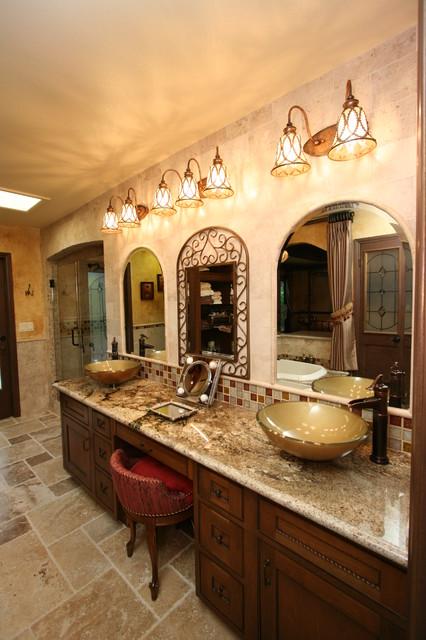 Tuscan Master Bath Traditional Bathroom Other Metro By Cab I Net Design Amp Remodel
