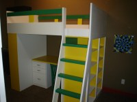Bunk Beds With Storage And Desk - Easy Home Decorating Ideas