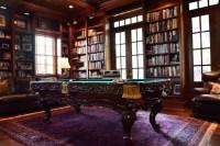 Charleston Row Billiard Room - Traditional - Living Room ...