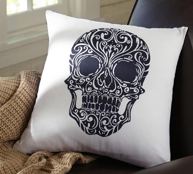 Skull Pillow Shams Society6