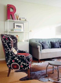 Modern Vintage by Emily Chalmers - Eclectic - Living Room ...