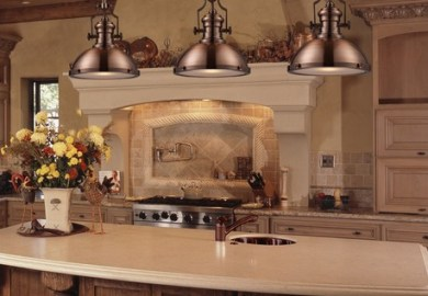 Kitchen Island Antique Lighting