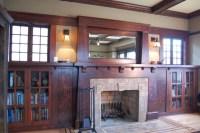 Craftsman Fireplace - Craftsman - Living Room - portland ...