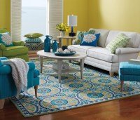 Area Rugs - Transitional - Living Room - other metro - by ...