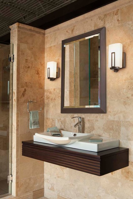 Bathrooms  Modern  Bathroom Vanity Lighting  cleveland