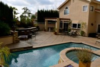 Complete Backyard Remodel with Modern Style Swimming Pool ...
