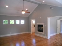 Master Suite addition with see thru F/P - Bedroom - san ...