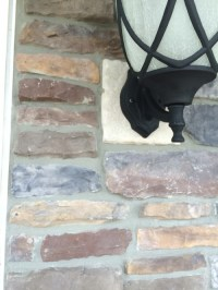 Outdoor lighting - Mounting block too small