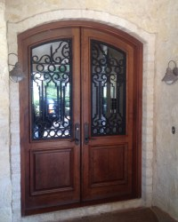 Castille Double Door - Rustic - Front Doors - other metro ...