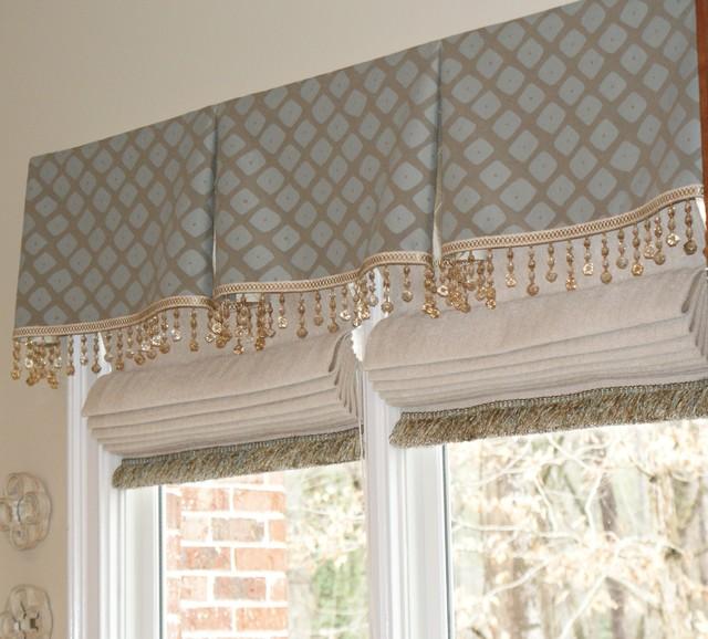 Window Treatments  Traditional  Roman Shades  Atlanta