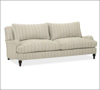 Carlisle Upholstered Sofa, Down-Blend Wrap Cushions, Pick ...