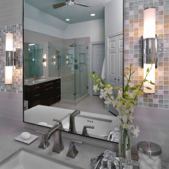 How Much Does Kitchen Remodel Cost Epson Printer Modern Bathroom With Mosaic Tile - ...