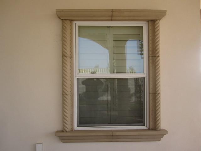 Stucco Window Trim