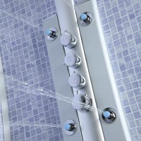 Thermostatic Shower Panel Tower System with 6 Body Jet ...