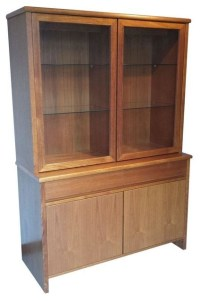 Mid-Century Danish Modern Teak China Hutch - China ...