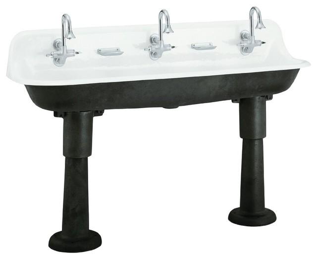 Kohler Brockway Wash Sink  Eclectic  Kitchen Sinks  by Amazon