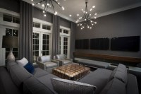 Hgtv Small Media Rooms Tv Over Fireplace - Home Decoration ...