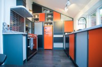 Retro-Inspired 70's Kitchen - Eclectic - Kitchen - other ...