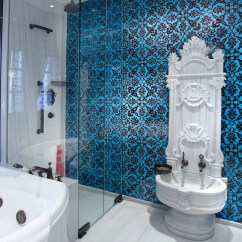 Living Room Desings Blue Rug Fully Handmade Traditional Turkish Iznik Chini Tile ...
