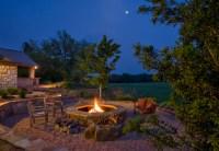 Fire Pit - Traditional - Landscape - austin - by Rick O ...