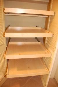 Linen Closet Pull Out Shelves - Closet Organizers ...