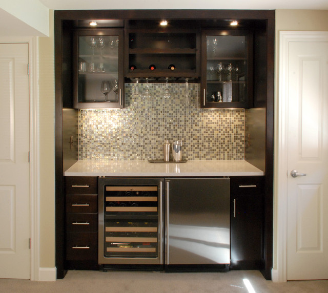 Modern Wet Bar Ideas