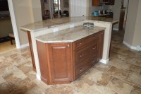 Kitchen Remodel with Two Tier Island - Traditional ...