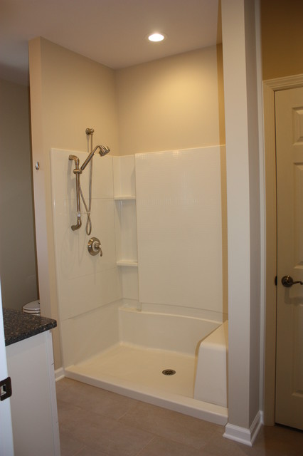 Easy Access Shower  Traditional  Bathroom  new york