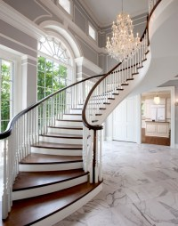 Lakeside Home 1 - Traditional - Staircase - milwaukee - by ...