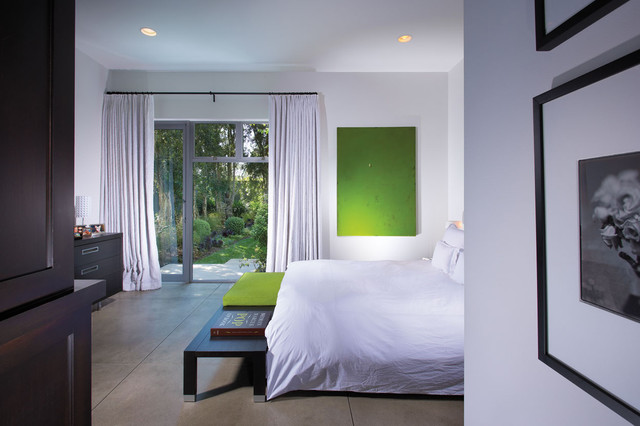 contemporary bedroom by Prestige Builders