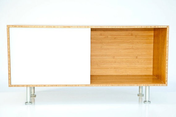 Bamboo Storage Cabinet by Maddox Street Studio