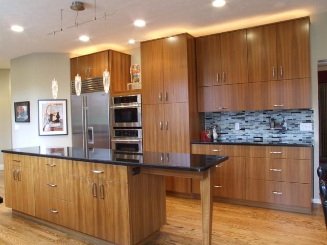 Teak Contemporary kitchen  Contemporary  Kitchen