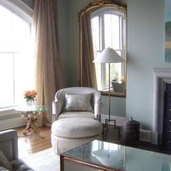 Castleton Sofa Magnussen Harbor Bay Table Writing Desk Eclectic Living Room