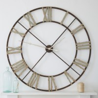 large iron clock - Eclectic - Wall Clocks - london - by ...