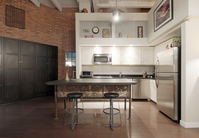 Industrial Kitchen  Eclectic  Kitchen  boston  by