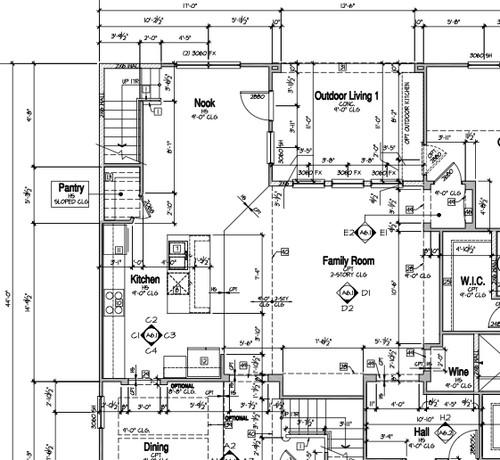 Location of Floor Plug & Living Room Layout