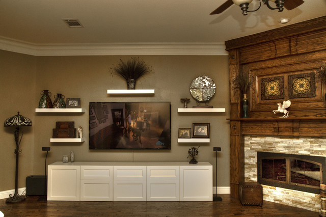 Floating Entertainment Center Design Plans Pictures to Pin