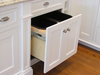 kitchen trash prefab countertops design tips for your pullout stonehaven life traditional cans by wellesley hills bath designers architectural kitchens inc